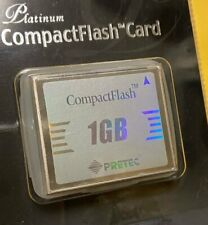 Pretec Platinum 1GB Compact Flash CF Memory Card with Case Retail package New