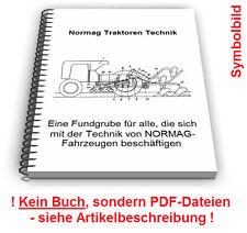 Normag Traktoren Ackerschlepper Schlepper - Technik Patente Patentschriften