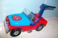 Corgi #261 Spiderman Spiderbuggy Jeep CJ-5 with Spiderman Driver Figure