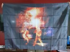 NEW Large Queen Freddie Mercury In Concert Flag