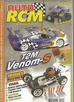 AUTO RCM  N°275 T2M VENOM-S / CUSTOM TRUCKS / MOTEURS MAX / X-RAY X 88 / CRONO