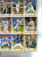 2019 Topps Series 1 and 2 New York Mets Team Set Jeff McNeil Pete Alonso RC 23