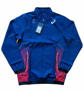 Asics Men's France Pro Elite Track & Field Running Jacket 2016 Rio Olympics L