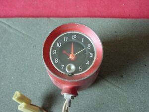 Used 1960 61 62 63 64 Pontiac Olds Buick Top Of Dash Accessory Clock