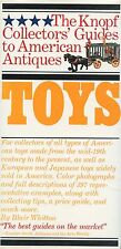Antique American European Japanese Toys – Types Makers Dates / Illustrated Book