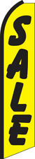 Sale Yellow/Black Swooper Flag Feather Super Bow Banner