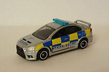 TOMICA~ No.39 MITSUBISHI LANCER EVOLUTION X BRITISH POLICE TYPE~ 1/61