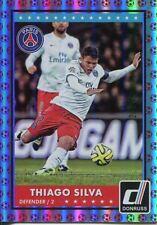 Donruss Soccer 2015 Red Parallel Base Card [49] #54 Thiago Silva