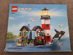 Lego 51051 Creator  Lighthouse Island instruction books only