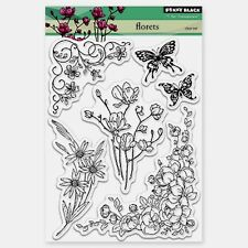 """Penny Black Clear Stamps 5""""X7.5"""" Sheet - Florets"""
