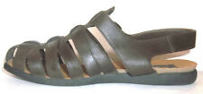 Chicory Sport Chelsea Brown Leather Strap Flat Sandals  Size 8.5 M