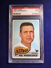 1965 Topps Hal Woodeshick #179 PSA 9 Houston Astros