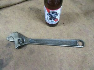 """Ampco W-73,12"""" Adjustable Wrench,ALBR,Non-Sparking,USA~GD+😎😎😎#A2.24.21"""
