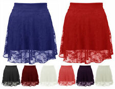 Unbranded Lace Floral Mini Skirts for Women