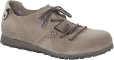 Birkenstock Montana Plus Taupe Veloursleder Größe 38 Fußbett schmal Damen Schuh