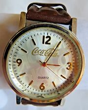 Mens COCA COLA Watch Analog Leather Band 55288
