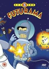 Futurama - Temporada 3DVD Box Set - 4 DISCOS - REGIÓN 2 PAL - VGC