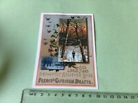 Frenches Capsicum Drafts   Victorian American Advertising Trade Card Ref 49415