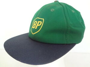 Vintage BP British Petroleum Snapback Trucker Hat Made in USA America's Legend