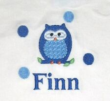 Personalized Custom Boys or Girls Big Sister or Brother Owl or Birthday T Shirt