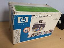 HP Photosmart A716 Digital Photo Inkjet Printer
