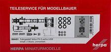 Herpa 084451 LKW-Fahrgestell Volvo FH 3-achs Inhalt: 2 Stück