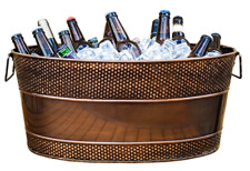Aspen Hammered Beverage Tub - Copper Finish *B-Grade* (Pack of 2)