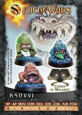 Warhammer Orcs and Goblins Squigs x 3: Sphere Wars Ksovvi