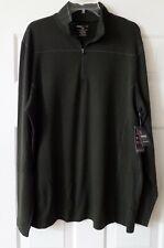 Swiss Tech Xl Quarter Zip Activewear Sweater Green New