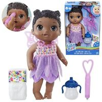 Baby Alive Face Paint Fairy Doll (African American) - Drinks and wets - In Stock