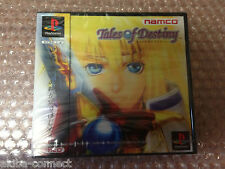 BRAND NEW Tales of Destiny Sony PS1 Playstation Import Japan NEUF SOUS BLISTER