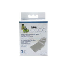 Hagen Fluval Edge CARBON RENEWAL SACHET 3 PAK Fish Aquarium