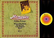 LP--EDDIE FISHER-- WHEN I WAS YOUNG