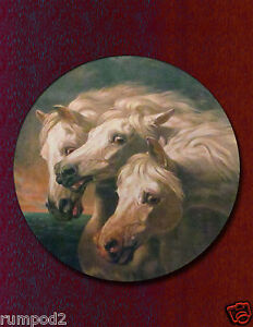 Vintage Horse/Equestrian Art Print/Poster Reproduction/Pharaoh's Horses
