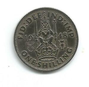 Great Britain 1948 One Shilling coin