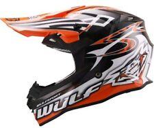 Wulfsport Adults Sceptre Orange Motocross Enduro Helmet Large