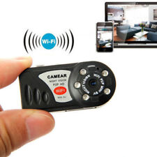 smallest Wireless micro Night Vision MINI WIFI IR spy security nanny camera DVR