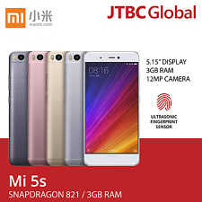New Xiaomi Red Mi 5s 32GB 4G LTE 5.15 Inches Dual SIM (Factory Unlocked) Phone