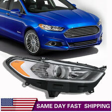 New 2013-2016 Ford Fusion Headlight Light Passenger Right Side Halogen 13-16 AA