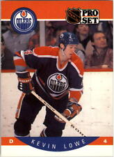 1990-91 PRO SET HOCKEY KEVIN LOWE CARD #89 EDMONTON OILERS NMT/MT-MINT
