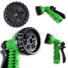 Garden Lawn Hose Nozzle Head Water Sprayer Green - 7 SPRAY PATTERNS! 300+SOLD