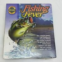 Fishing Fever Deluxe Big Box PC CD-ROM Video Game NEW / SEALED OEM Sports Games
