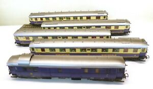 Liliput H0 Rheingoldzug mit 5 Wagen   T51