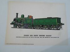 "LONDON+NORTH WESTERN RAILWAY No 531 ""Lady of the Lake""  - Glossy Print"
