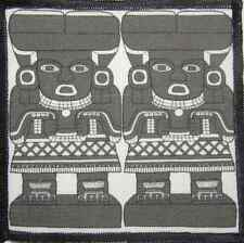 CHALCHIUTLICUE - Aztec Stone Carvings - Printed Patch-Sew On - Jacket, Backpack