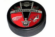 2011 Stanley Cup Playoffs Dueling Puck Detroit Red Wings vs Arizona Coyotes