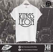 Kings Of Leon T Shirt Caleb Followill The Kooks Strokes Music Tour Rock Band