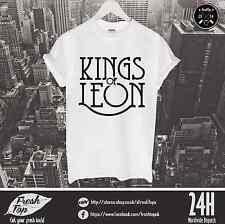 Kings Of Leon T Shirt Caleb Followill The Kooks Strokes Music Tour Rock Band