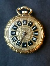 Chancellor Gold Colored Small Ladies Pocket Watch, As Found