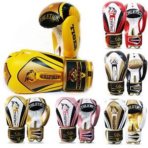 Boxing Gloves Punch Bag Punching Glove MMA Muay Thai Training Mitts Kids & Adult